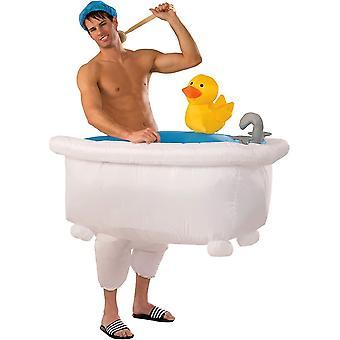 Badkamer opblaasbare grappig kostuum