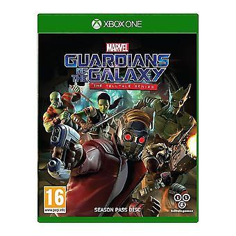 Vartijat galaksin sankarin sarjan Xbox yksi peli