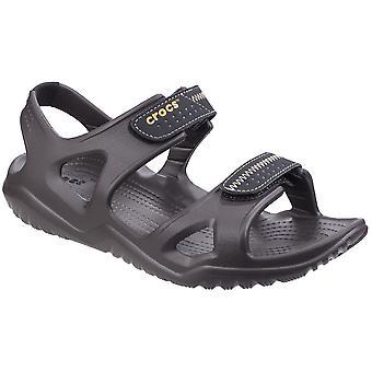 Crocs Mens Swiftwater floden lätta ankel Strap sommar sandaler