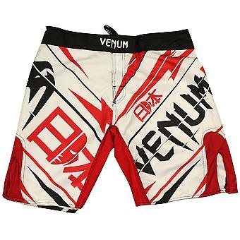 VM Mens Wanderlei Silva Wand returnerer Japan kjempe Shorts - hvit/rød