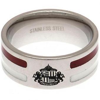 Sunderland Colour Stripe Ring Small
