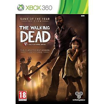 Årets Walking Dead-udgave (Xbox 360)-fabriks forseglet