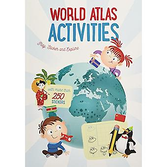 World Map Sticker Book - The World by Yoyo Books - 9789463602631 Book