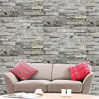 Hyfive Modern Brick Wall 3D Wall Poster, Fond d'écran, Wall Sticker Home Decor Stickers for bedrooms, Living Room, Hall, Kids Room, Play Room