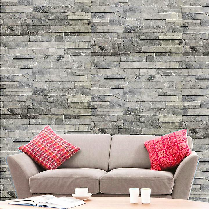 Hyfive Modern Brick Wall 3D Wall Poster, Wallpaper, Wall Sticker Home Decor Stickers for bedrooms, Living Room, Hall, Kids Room, Play Room