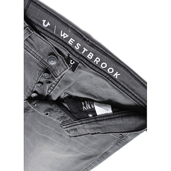 True Religion Jeans Rocco Relaxed Skinny Westbrook Grey