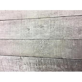Graues Holz Wirkung Tapete Plank Board Panel Retro Vinyl Paste Wall Erismann