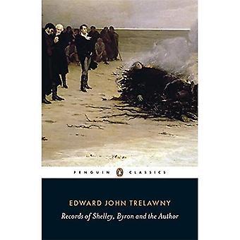 Registreringer av Shelley, Byron og forfatter (Penguin Classics)