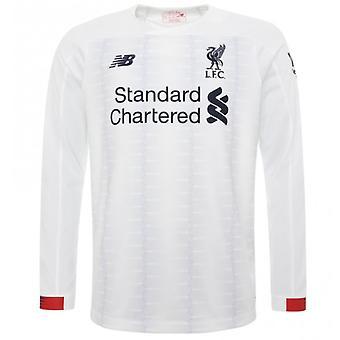 2019-2020 tricou cu mânecă lungă Liverpool away (copii)