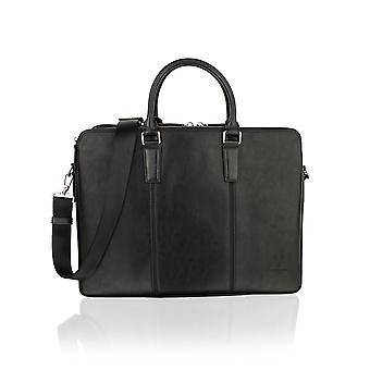"Classic Design Black 15.0"" Tote Bag"