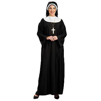 Nun Sister Mother Superior Deluxe Religious Habit Womens Costume Plus Size
