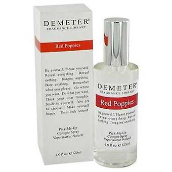 Demeter Rote Mohnblumen von Demeter Köln Spray 4 Oz (Frauen) V728-464211
