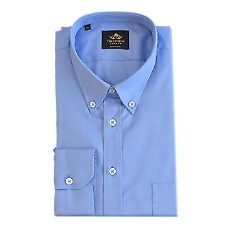 Thomas mason royal oxford mid blue shirt