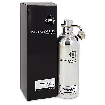 Montale vanilla cake eau de parfum spray (unisex) by montale 542504 100 ml