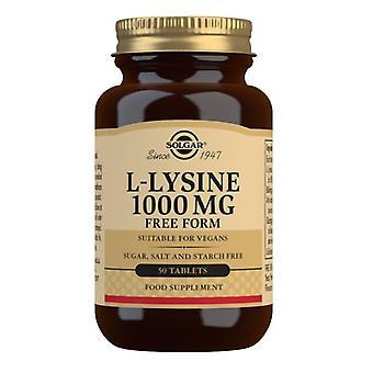 Solgar L-Lysine 1000mg Comprimidos 50 (1700)