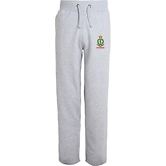 Royal Army Medical Corps veteran-licenseret British Army broderet åbne hem sweatpants/jogging bunde