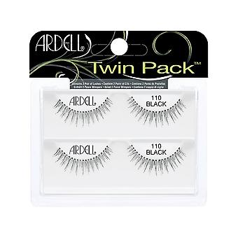 Ardell Twinpack 110 nero facile applicare aspetto naturale False Strip Eye Ciglia