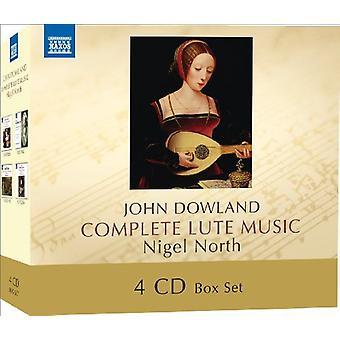 J. Dowland - John Dowland: Importazione di musica per liuto completa [CD] USA