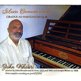 John Khouri - Clementi Gradus AD Parnassum Op. 44 [CD] USA importar