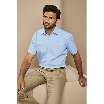 SIMON JERSEY Polycotton Short Sleeve Shirt