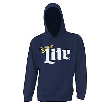 Miller Lite klassieke Logo marineblauw Hoodie