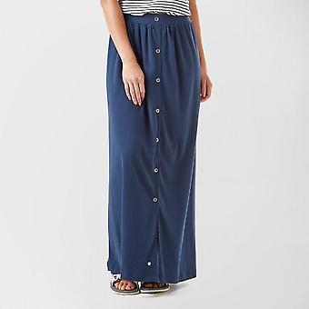 Nya Roxy kvinnor ' s ögonblick av crazyness kjol Navy