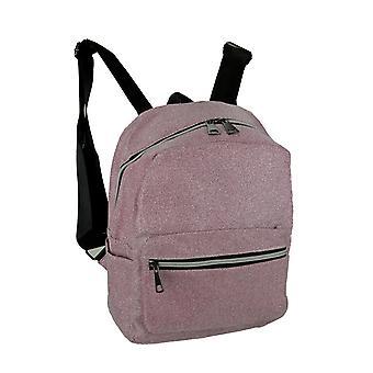 Sparkly Glitter Mesh Mini Backpack