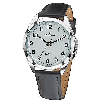 ATRIUM Pánske hodinky náramkové hodinky A10-10 kožené