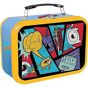 Adventure tid tegneserie halvtone Lunch box