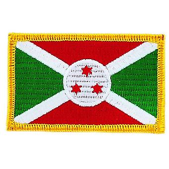 Aufnäher Ecusson Brode Flagge Burundi Flagge Thermocollant Insigne Blason