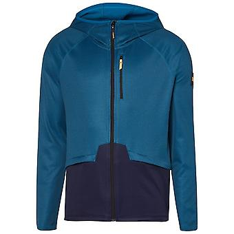 ONeill Athmos con capucha con cremallera completa en azul de puerto marino