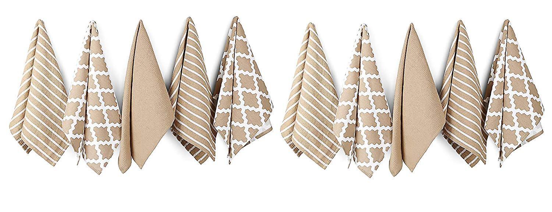 Penguin Home - 100% Cotton Tea Towel Set of 10 - Soft - Durable