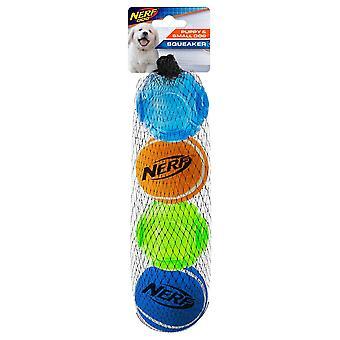 Nerf Dog Puppy Assorted Balls - 4 Pack