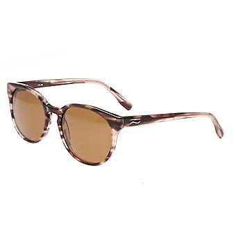 تبسيط كلارك الاستقطاب النظارات الشمسية-براون السلحفاة/براون