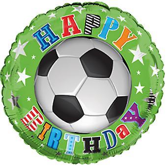 Feuille de Simon Elvin 18 pouces joyeux anniversaire Football ballon