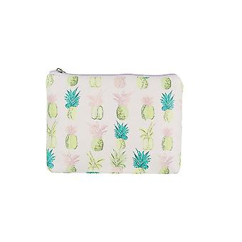 Jewelcity kvinner/Ladies Pineapple Big flat makeup bag