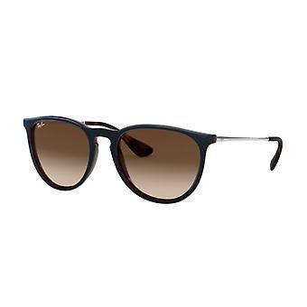 Ray-Ban Erika RB4171 6315/13 Transparente Brown-Blue / Brown-Dark Brown Gradient Óculos de sol