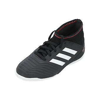 Adidas Predator TANGO 18.3 IN J Kids Football Shoes Black Sports Shoes