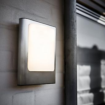 Lutec gezicht 13W buitenmuur LED licht In roestvrij staal