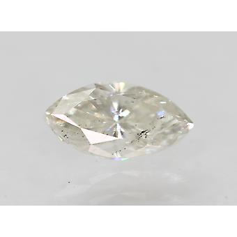 Certified 0.51 Carat G SI1 Marquise Enhanced Natural Loose Diamond 7.17x3.7m 2VG