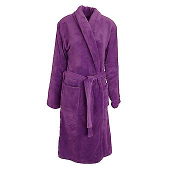 Selena Secrets Womens/Ladies Soft Touch Dressing Gown