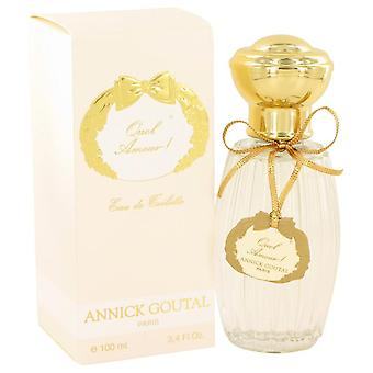 Quel amour eau de toilette spray by annick goutal 453511 100 ml