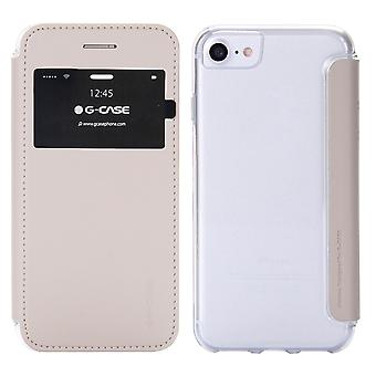 Case For iPhone 8 / IPhone 7 Beige With Window