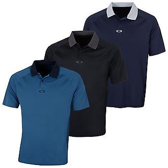 Oakley Herren SS zurück gestreift reguläre fit Golf Polo Shirt