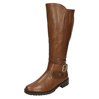 Ladies Gabor kne høye støvler 32797