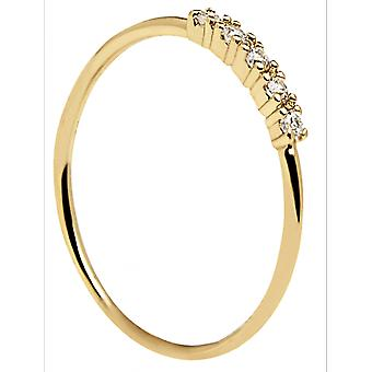 PD Paola Ring AN01-117 - Mor silver MISTY with zirconium oxides Women