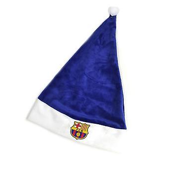 FC Barcelona adultos Unisex chapéu de Papai Noel