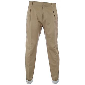 Vivienne Westwood Beige Washed Twill Trousers