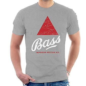 Bass Red Triangle Classic Logo Men's T-Shirt