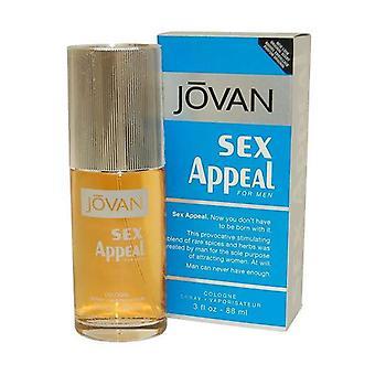 Jovan Sex-Appeal voor mannen Cologne Spray 88ml